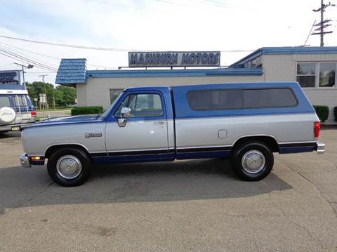 1990 Dodge RAM 250 for sale at Mashburn Motors in Saint Clair MI