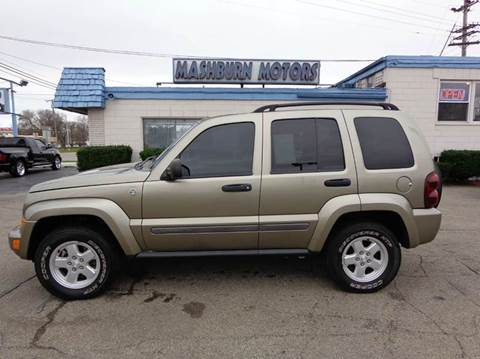 2007 Jeep Liberty for sale at Mashburn Motors in Saint Clair MI