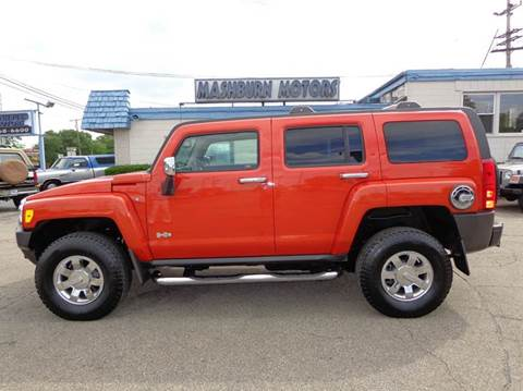 2009 HUMMER H3 for sale at Mashburn Motors in Saint Clair MI