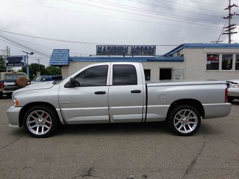2005 Dodge Ram Pickup 1500 SRT-10 for sale at Mashburn Motors in Saint Clair MI