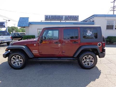 2010 Jeep Wrangler Unlimited for sale at Mashburn Motors in Saint Clair MI