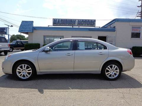 2008 Saturn Aura for sale at Mashburn Motors in Saint Clair MI