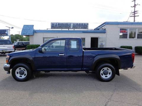 2012 GMC Canyon for sale at Mashburn Motors in Saint Clair MI