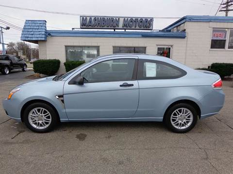 2008 Ford Focus for sale at Mashburn Motors in Saint Clair MI