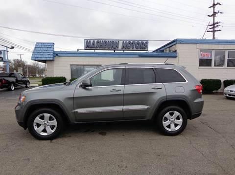 2012 Jeep Grand Cherokee for sale at Mashburn Motors in Saint Clair MI