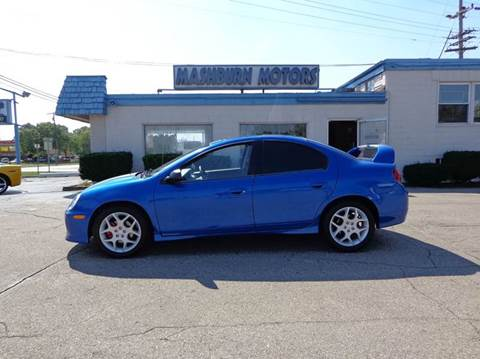 2004 Dodge Neon SRT-4 for sale at Mashburn Motors in Saint Clair MI