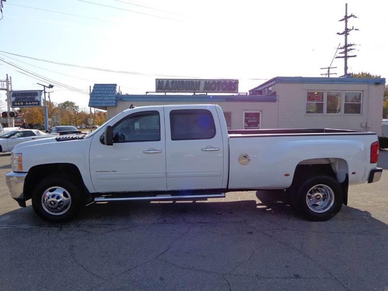 2012 Chevrolet Silverado 3500HD for sale at Mashburn Motors in Saint Clair MI