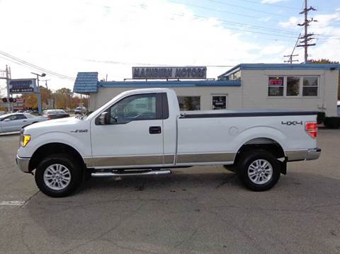 2013 Ford F-150 for sale at Mashburn Motors in Saint Clair MI