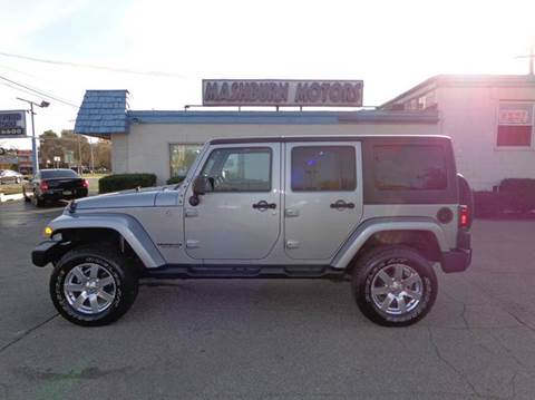 2013 Jeep Wrangler Unlimited for sale at Mashburn Motors in Saint Clair MI