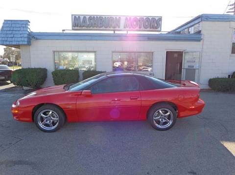 2000 Chevrolet Camaro for sale at Mashburn Motors in Saint Clair MI