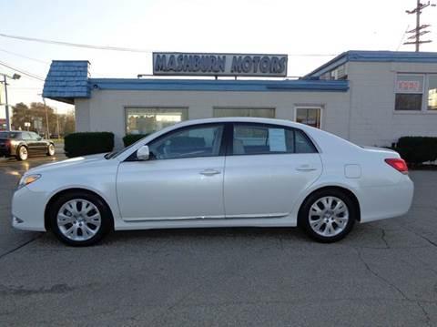 2012 Toyota Avalon for sale at Mashburn Motors in Saint Clair MI