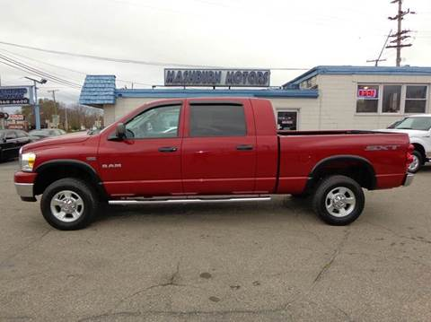 2008 Dodge Ram Pickup 1500 for sale at Mashburn Motors in Saint Clair MI