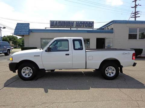 2008 Ford Ranger for sale at Mashburn Motors in Saint Clair MI