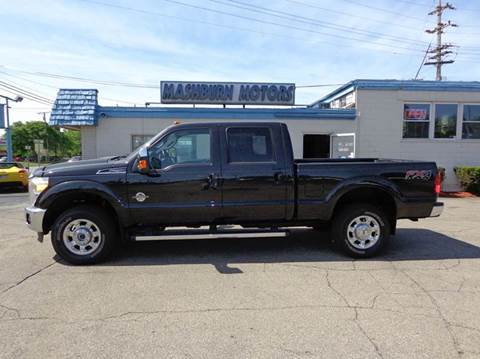 2014 Ford F-250 Super Duty for sale at Mashburn Motors in Saint Clair MI
