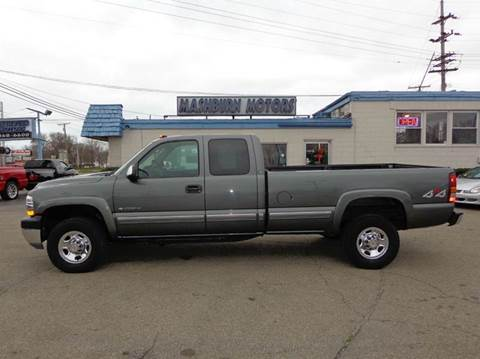 2001 Chevrolet Silverado 2500HD for sale at Mashburn Motors in Saint Clair MI