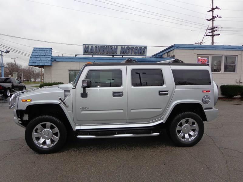 2009 HUMMER H2 for sale at Mashburn Motors in Saint Clair MI