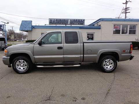 2007 GMC Sierra 1500 Classic for sale at Mashburn Motors in Saint Clair MI