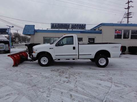 1999 Ford F-250 Super Duty for sale at Mashburn Motors in Saint Clair MI
