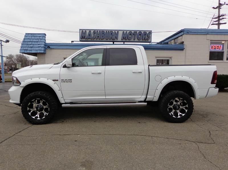 2013 RAM Ram Pickup 1500 for sale at Mashburn Motors in Saint Clair MI