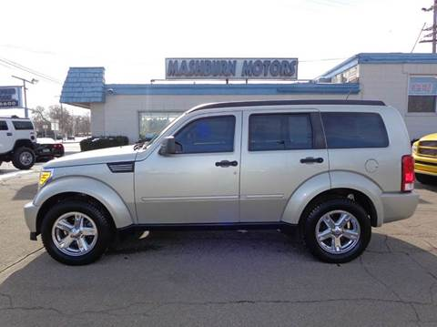 2009 Dodge Nitro for sale at Mashburn Motors in Saint Clair MI