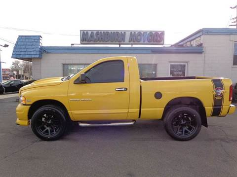 2005 Dodge Ram Pickup 1500 for sale at Mashburn Motors in Saint Clair MI