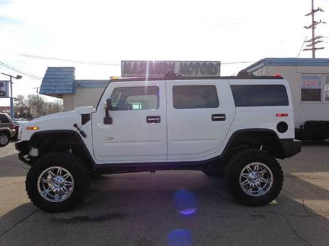 2005 HUMMER H2 for sale at Mashburn Motors in Saint Clair MI