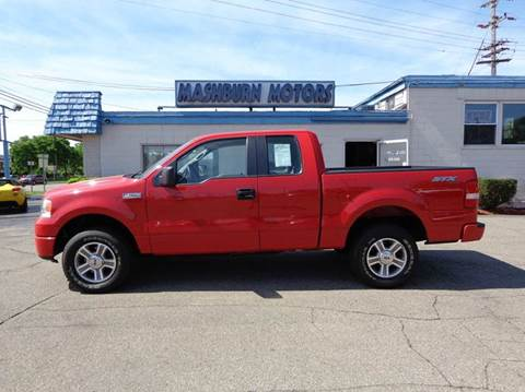 2008 Ford F-150 for sale at Mashburn Motors in Saint Clair MI