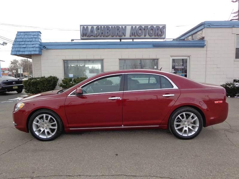 2011 Chevrolet Malibu for sale at Mashburn Motors in Saint Clair MI