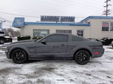 2007 Ford Mustang for sale at Mashburn Motors in Saint Clair MI