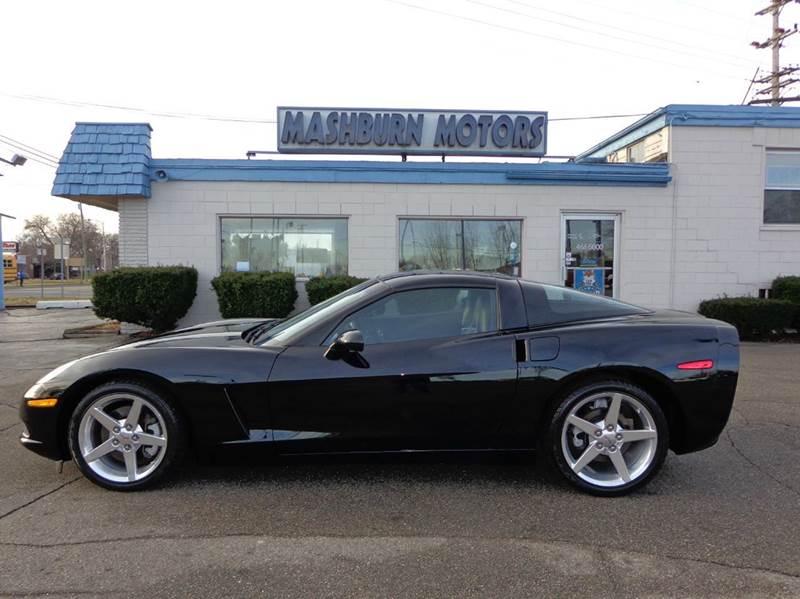 2005 Chevrolet Corvette for sale at Mashburn Motors in Saint Clair MI