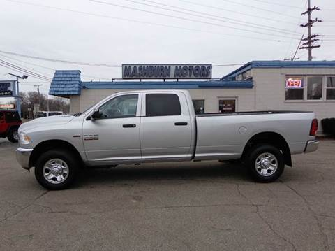 2015 RAM Ram Pickup 2500 for sale at Mashburn Motors in Saint Clair MI