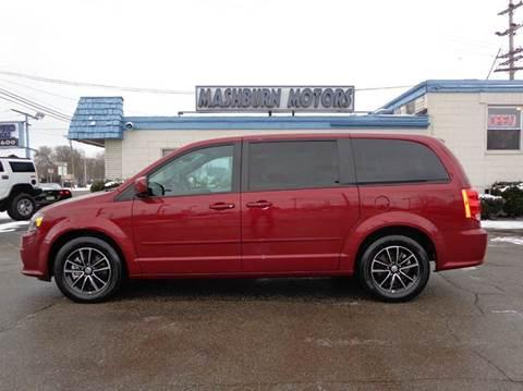 2015 Dodge Grand Caravan for sale at Mashburn Motors in Saint Clair MI