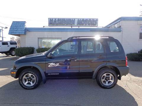 2002 Chevrolet Tracker for sale at Mashburn Motors in Saint Clair MI