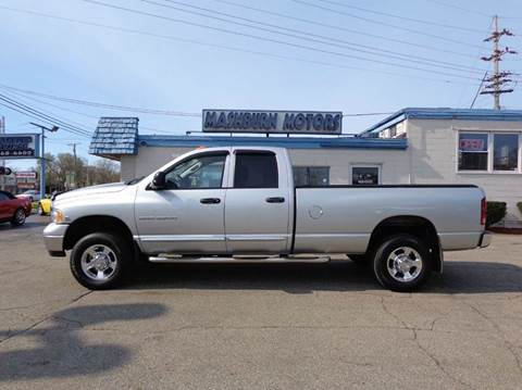 2005 Dodge Ram Pickup 3500 for sale at Mashburn Motors in Saint Clair MI