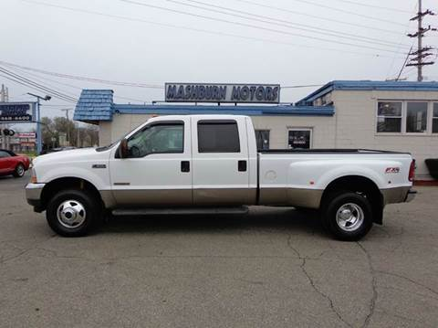 2003 Ford F-350 Super Duty for sale at Mashburn Motors in Saint Clair MI
