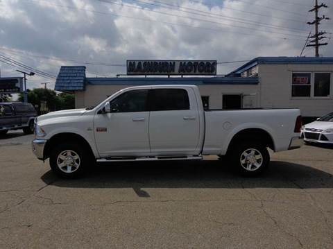 2012 RAM Ram Pickup 2500 for sale at Mashburn Motors in Saint Clair MI