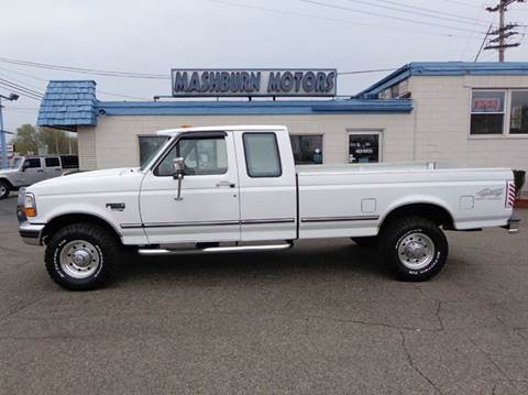 1997 Ford F-250 for sale at Mashburn Motors in Saint Clair MI
