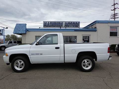 1997 Dodge Ram Pickup 1500 for sale at Mashburn Motors in Saint Clair MI