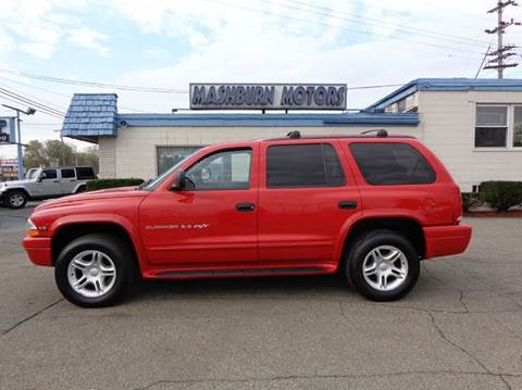 2000 Dodge Durango for sale at Mashburn Motors in Saint Clair MI