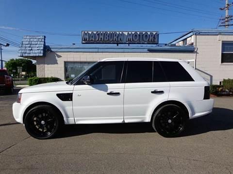 2011 Land Rover Range Rover Sport for sale at Mashburn Motors in Saint Clair MI