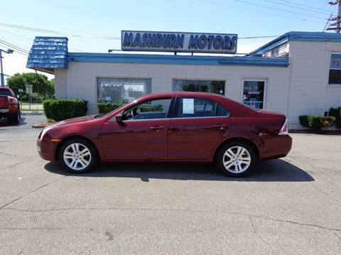 2006 Ford Fusion for sale at Mashburn Motors in Saint Clair MI