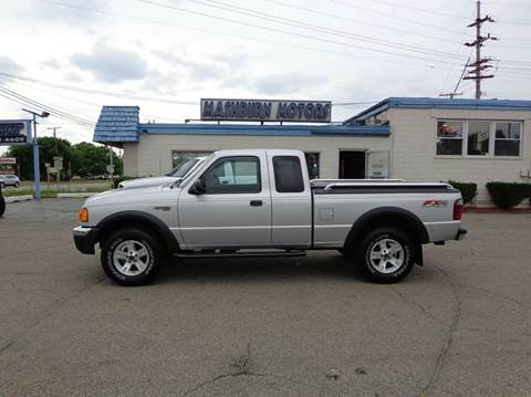2004 Ford Ranger for sale at Mashburn Motors in Saint Clair MI