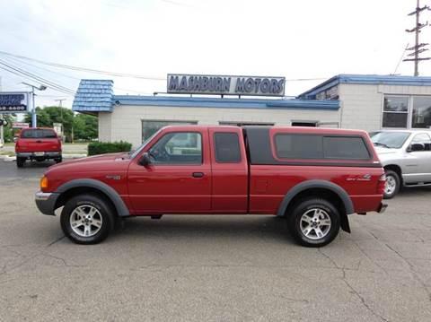 2002 Ford Ranger for sale at Mashburn Motors in Saint Clair MI