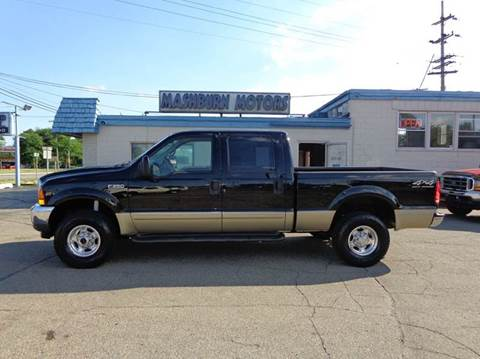 2001 Ford F-250 Super Duty for sale at Mashburn Motors in Saint Clair MI