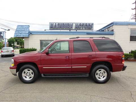2004 Chevrolet Tahoe for sale at Mashburn Motors in Saint Clair MI