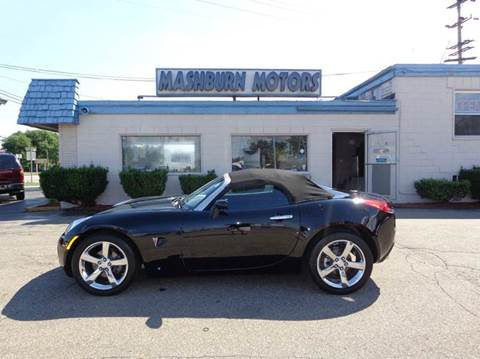 2008 Pontiac Solstice for sale at Mashburn Motors in Saint Clair MI