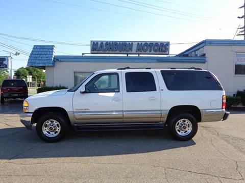 2000 GMC Yukon XL for sale at Mashburn Motors in Saint Clair MI