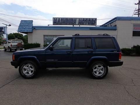 2000 Jeep Cherokee for sale at Mashburn Motors in Saint Clair MI