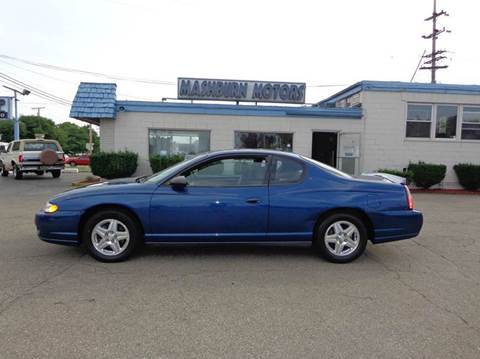 2005 Chevrolet Monte Carlo for sale at Mashburn Motors in Saint Clair MI