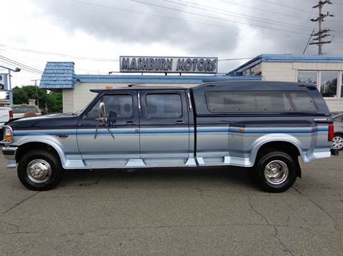 1994 Ford F-350 for sale at Mashburn Motors in Saint Clair MI